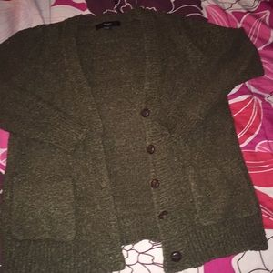 Forever 21 Olive Green Sweater